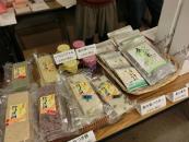 会場での物品販売(福島県有機農業ネットワーク食品加工品)