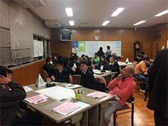 静岡県牧之原市相良地区 ワークショップ写真