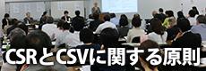 CSRとCSVに関する原則